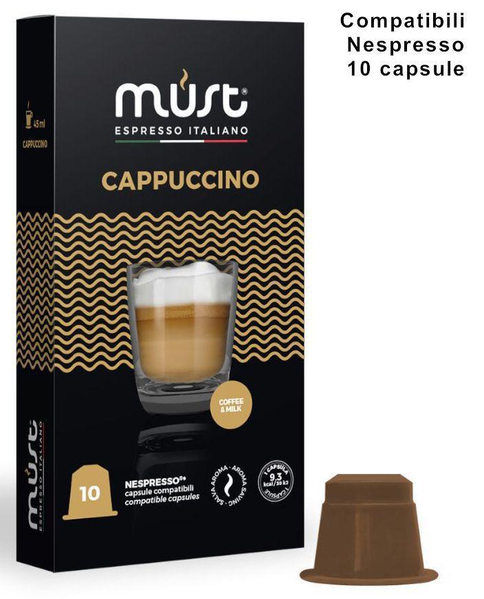 CAFFE CAPSULE NP 10pz CAPPUCCINO - (compatibile Nespresso)