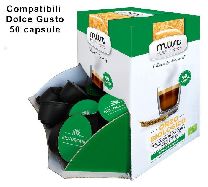 CAFFE CAPSULE DG 50pz ORZO BIO - (compatibile Dolce Gusto)