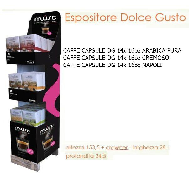 CAFFE CAPSULE DG EXPO 42pz - (compatibile Dolce Gusto)