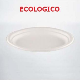 PIATTI OVALI 50pz CELLULOSA ECOKAY - ECOLOGICO