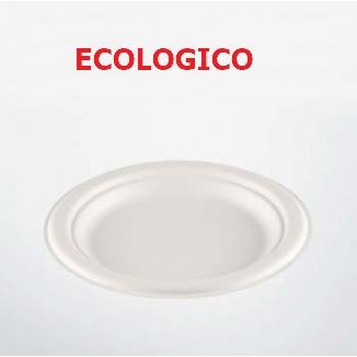 PIATTI OVALI 50pz D175 CELLULOSA ECOKAY - ECOLOGICO