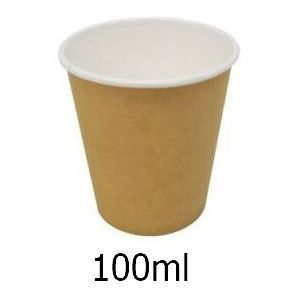 BICCHIERI PASSO&BEVO 50pz 100ml BEVANDE CALDE ASPORTO - CAFFE