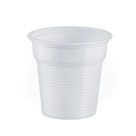 BICCHIERI PLASTICA 80CC 100pz PER CAFFE