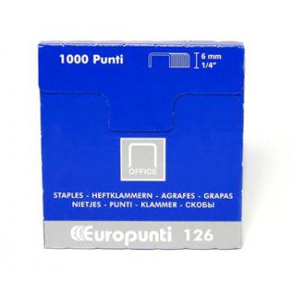 PUNTI CUCITRICE 126 24/6 1000pz 10SC - UNIVERSALI GRANDI - 1555