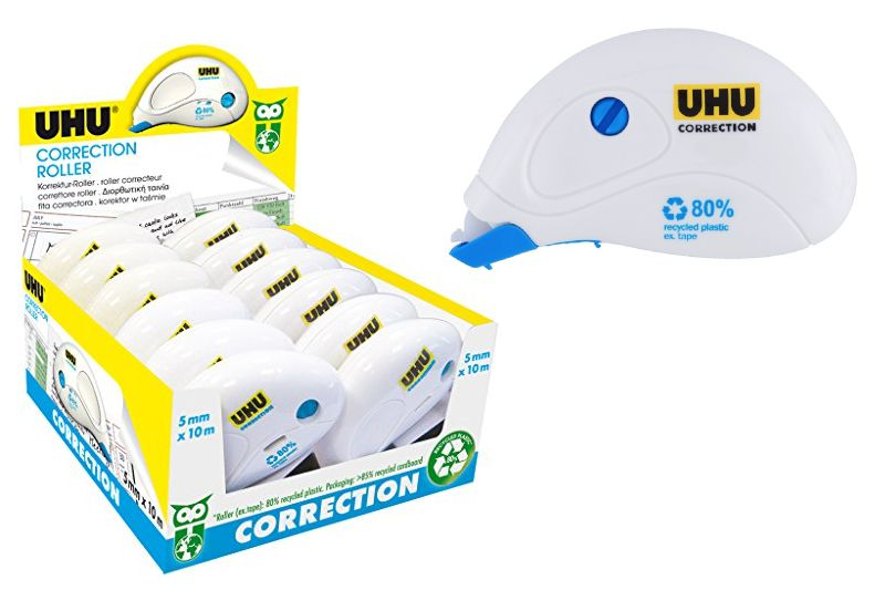 CORRETTORE ROLLER COMPACT 12pz 10mt - UHU