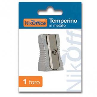 TEMPERINI METALLO 1 FORO    1pz BLISTERATO
