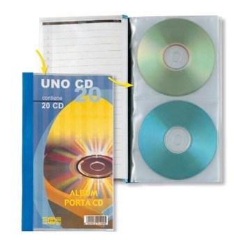 CD PORTA LISTINO UNO CD 20