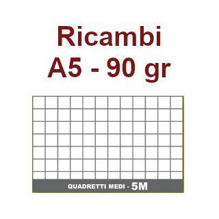 RICAMBI 15X21 A5 5mm 90gr