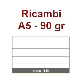 RICAMBI 15X21 A5 1R 80gr