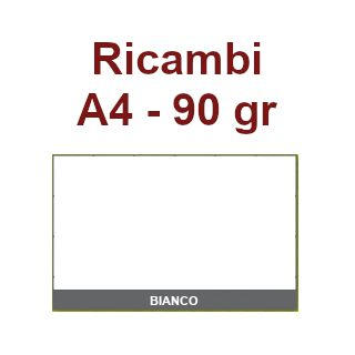 RICAMBI 21X29 A4 BIANCHI 90gr