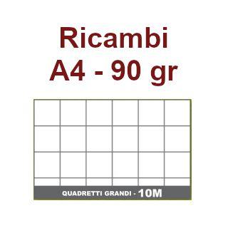 RICAMBI 21X29 A4 10mm 90gr