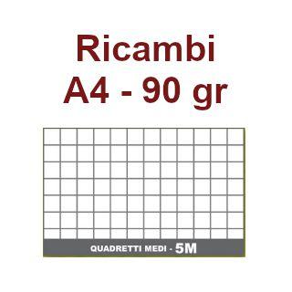 RICAMBI 21X29 A4 5mm 90gr