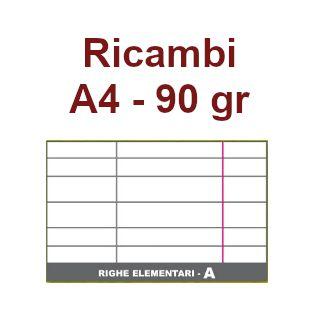 RICAMBI 21X29 A4 RA 90gr