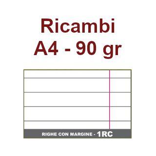 RICAMBI 21X29 A4 RC 90gr