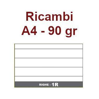 RICAMBI 21x29 A4 1R 90gr