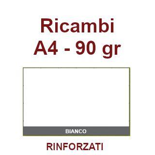 RICAMBI 21X29 A4 BIANCHI  90gr RINFORZATI