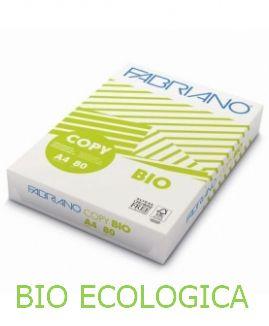 CARTA A4 21x29 80g 500fg BIO ECOLOGICA 1pz COPY FABRIANO