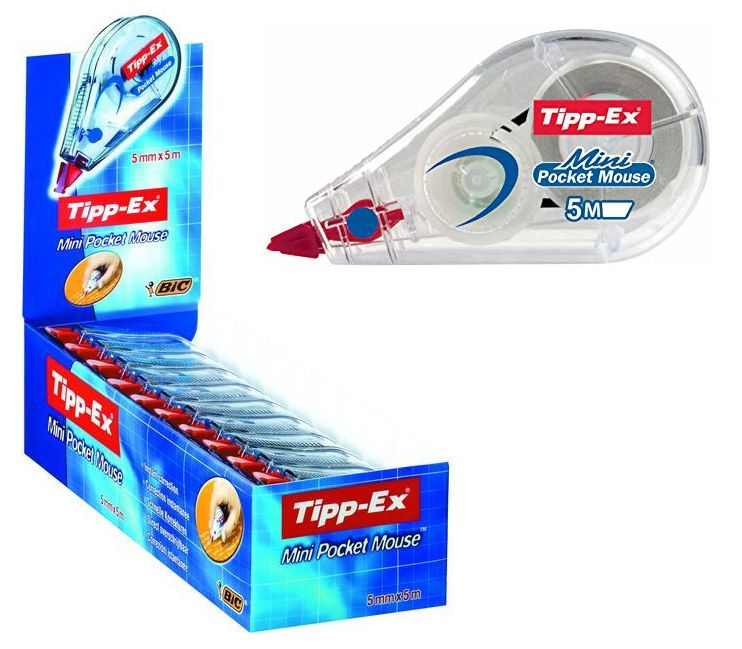 CORRETTORE ROLLER 10pz MINI - TIPP-EX