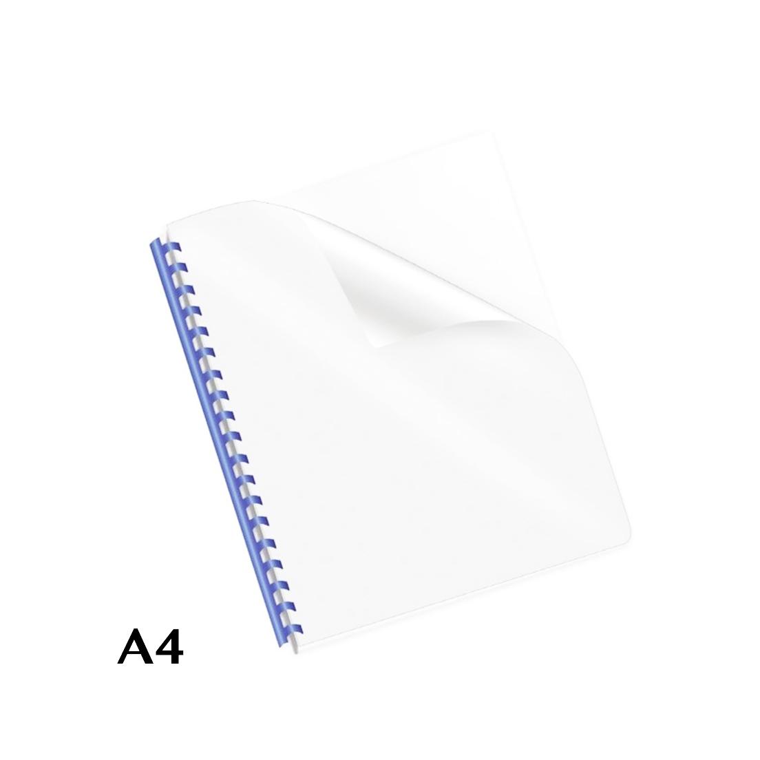 QUADRANTI IN PVC A4 18/100 100pz 18 MICRON