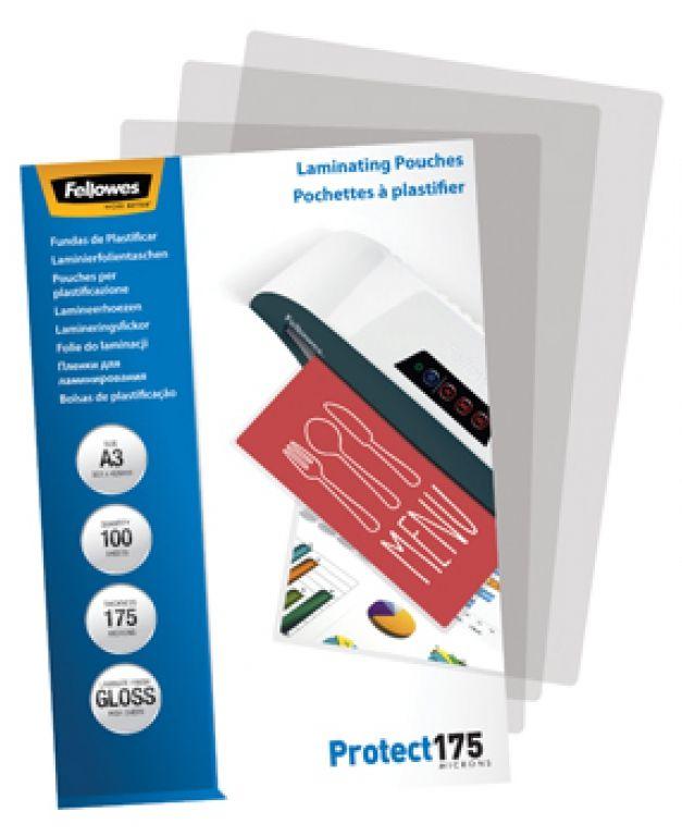 POUCHES PER PLASTIFICATRICI A4 175 MICRON 100pz