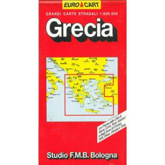 MAPPA STRADALE GRECIA V8 1pz