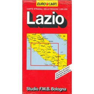 MAPPA STRADALE LAZIO V8 1pz
