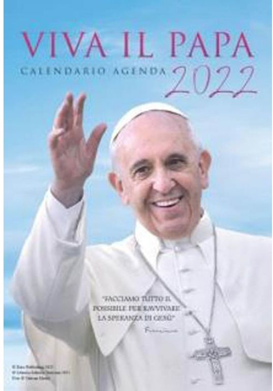 CALENDARI VIVA IL PAPA 1pz 2022