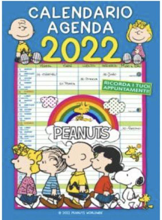 CALENDARI PEANUTS 1pz 2022