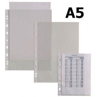 BUSTA PLASTICA FORATA A5 LISCIA 25pz 15x21cm