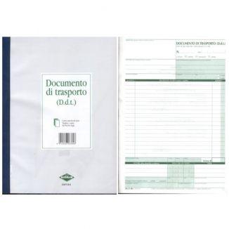 MODULI DDT A4 4COPIE 25fg 1pz C/CHIMICA