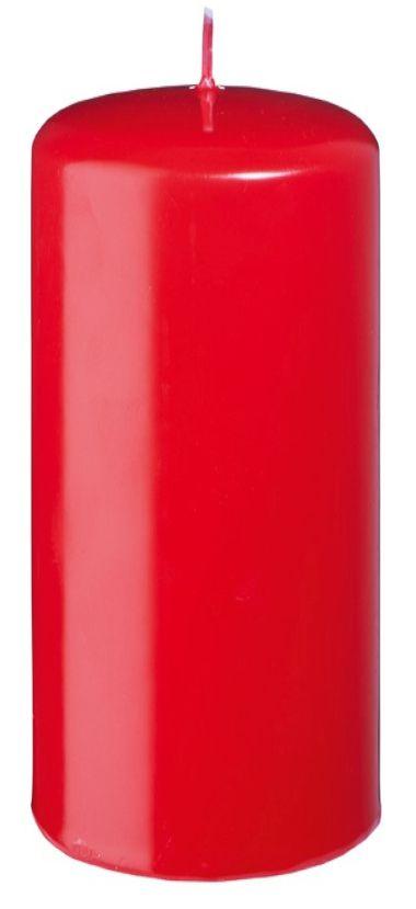 CANDELA SAFE CANDLE 150/80mm 1pz ROSSA CON CELLOPHANE