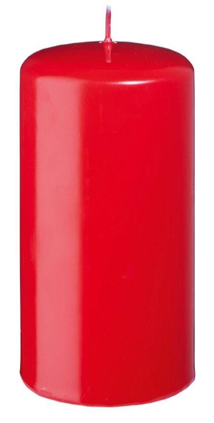 CANDELA SAFE CANDLE 100/60mm 1pz ROSSA CON CELLOPHANE