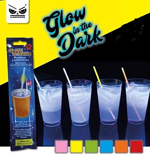 CANNUCCE SET 6pz CANNUCCE GLOW IN THE DARK