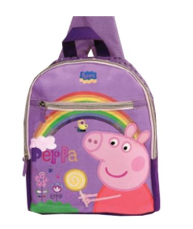 ZAINO PEPPA PIG ASILO 24X30X7