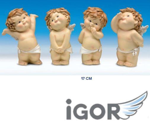 ANGELO IGOR SINGOLO H17cm 1pz COLORATO