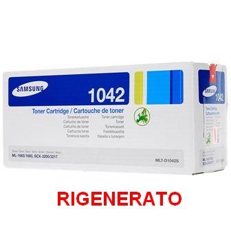 TONER SAMSUNG 1042S 1,5K RIGENERATO MLTD1042 - SCX 3200