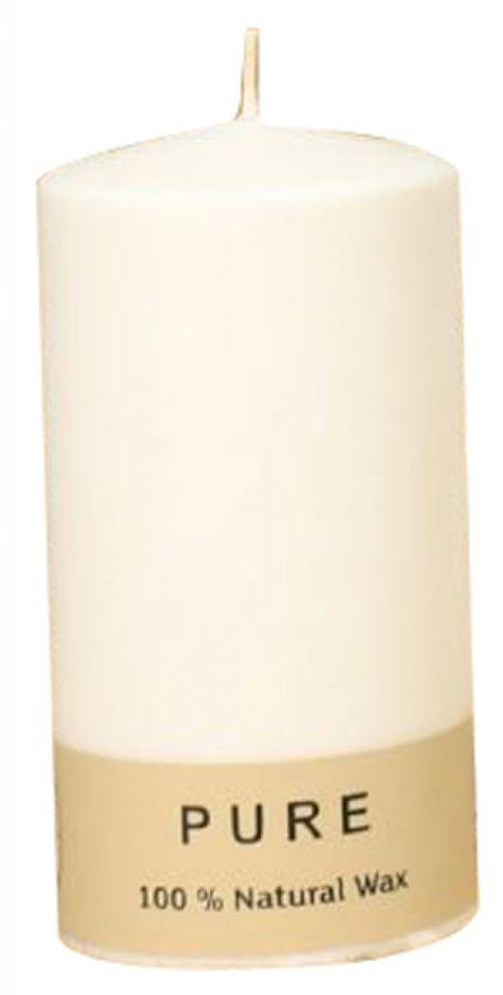 CANDELA SAFE CANDLE 130/70mm 1pz CERA NATURALE AVORIO
