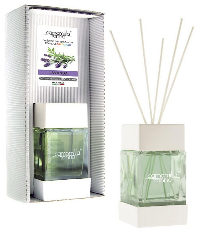 PROFUMATORE CUBOLED ESSENZA LAVANDA 200ML C/BASTONCINI