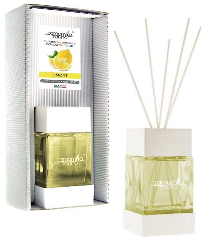 PROFUMATORE CUBOLED ESSENZA LIMONE 200ML C/BASTONCINI