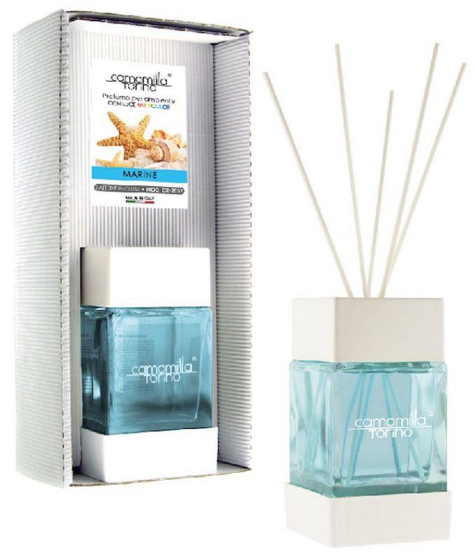 PROFUMATORE CUBOLED ESSENZA MARINE 200ML C/BASTONCINI