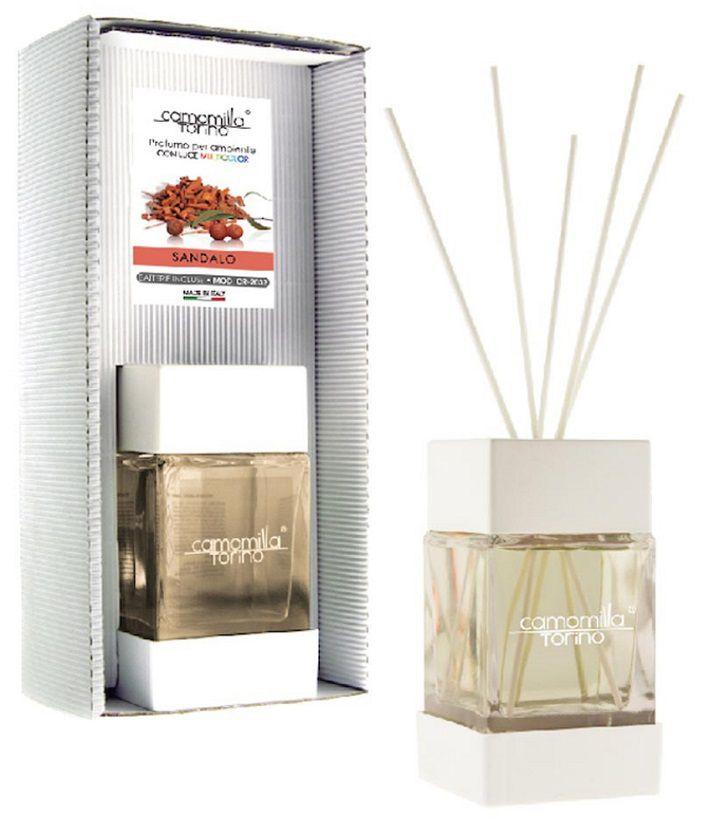 PROFUMATORE CUBOLED ESSENZA SANDALO 200ML C/BASTONCINI
