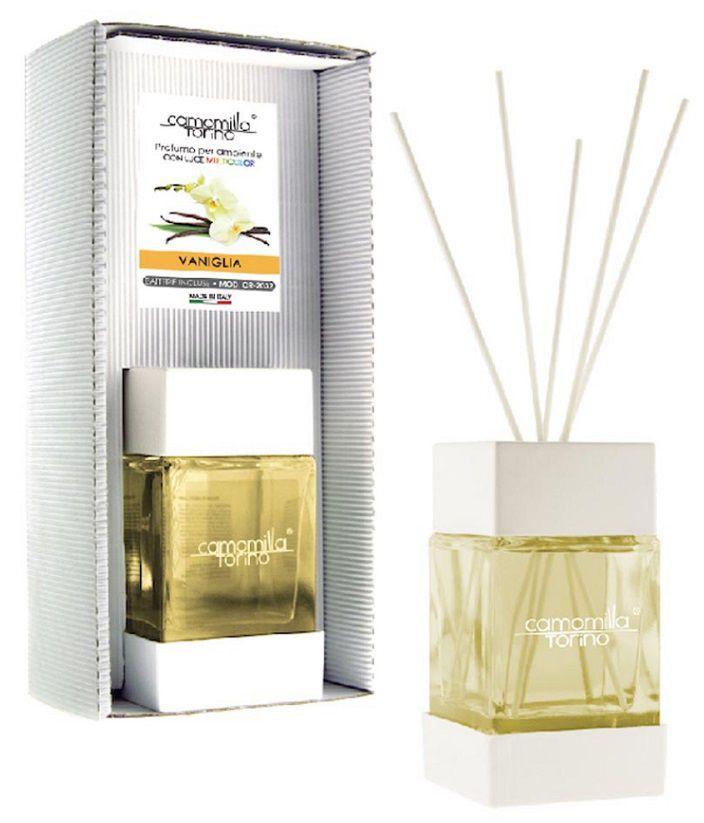 PROFUMATORE CUBOLED ESSENZA VANIGLIA 200ML C/BASTONCINI