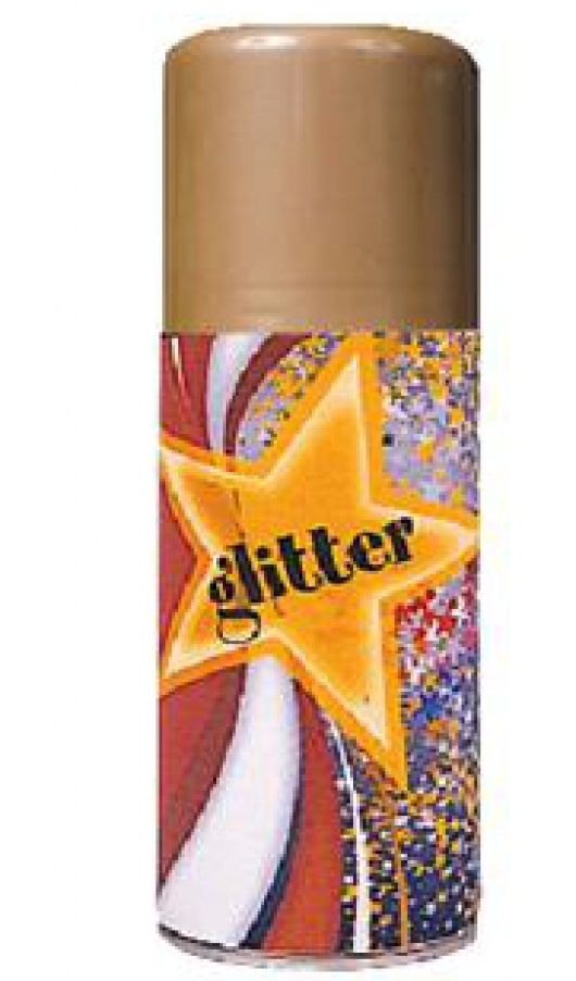 SPRAY GLITTER ORO 150ML 1pz