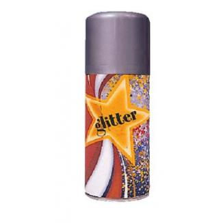 SPRAY GLITTER ARGENTO 150ml 1pz