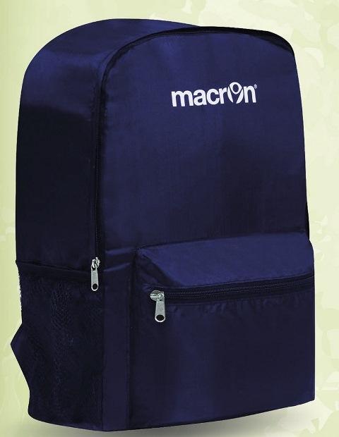 ZAINO MACRON WING 1pz  RICHIUDIBILE OPEN 27x40x16cm - COMPACT 19x19x4cm