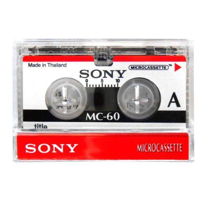 MICROCASSETTA SONY MC60 1pz