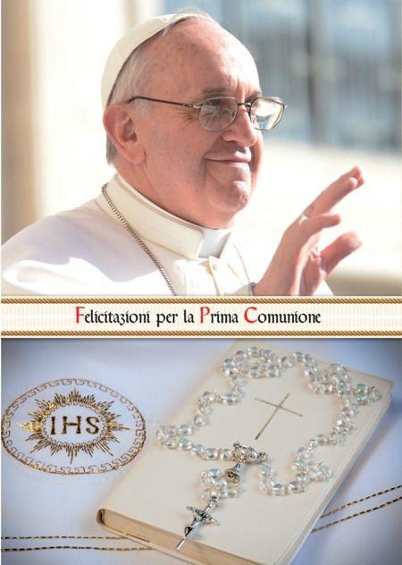 BIGLIETTI MARPIMAR CRESIMA  PAPA FRANCESCO 12pz
