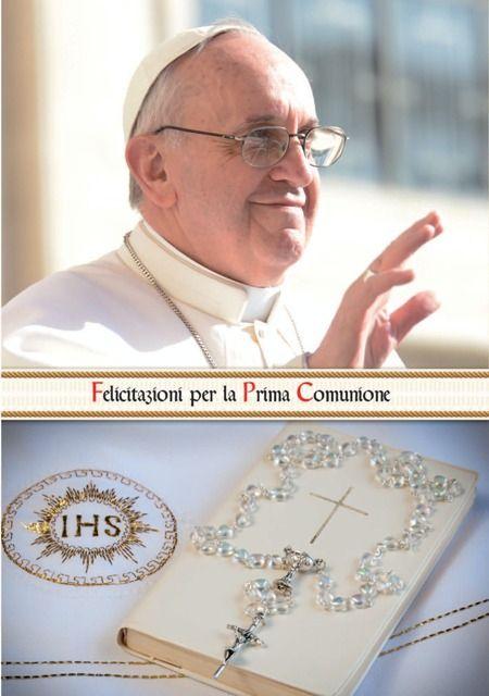BIGLIETTI MARPIMAR CRESIMA  PAPA FRANCESCO PORTASOLDI 12pz