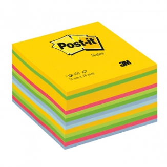 POST-IT 3M CUBO 76X76 450FG 2030U COLORATO