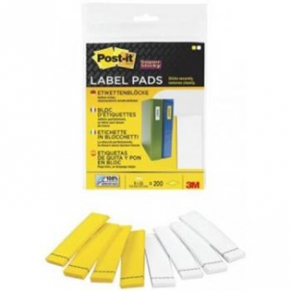 POST-IT 3M 200 ETICHETTE SUPERSTICKY 8X25